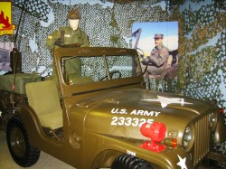 Elvis army jeep