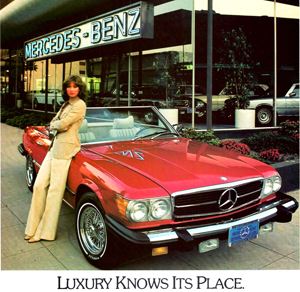 small 1979 Mercedes dealer ad