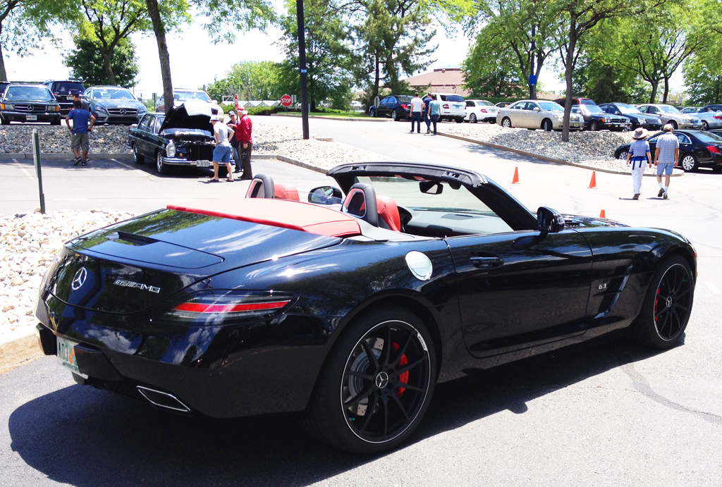 2014 Mercedes SLS AMG convertible at the 2014 June Jamboree in    Mercedes Sls Amg Convertible