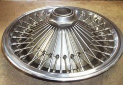 1971 Chrysler wire wheel cover