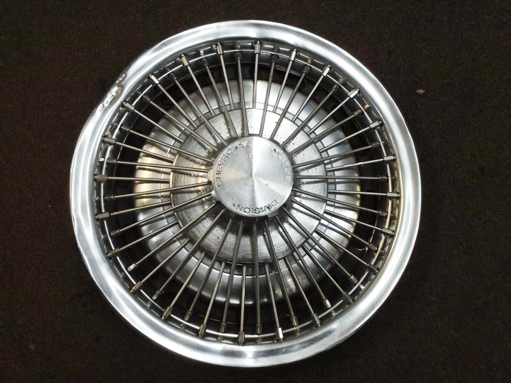 1971 chevrolet wire wheel cover