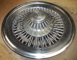 1973 buick wire wheel cover