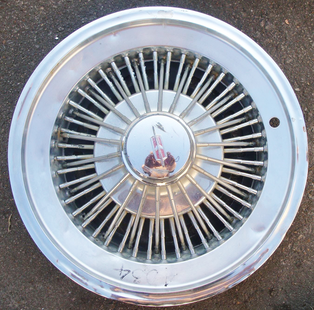 1973 oldsmobile wire wheel cover