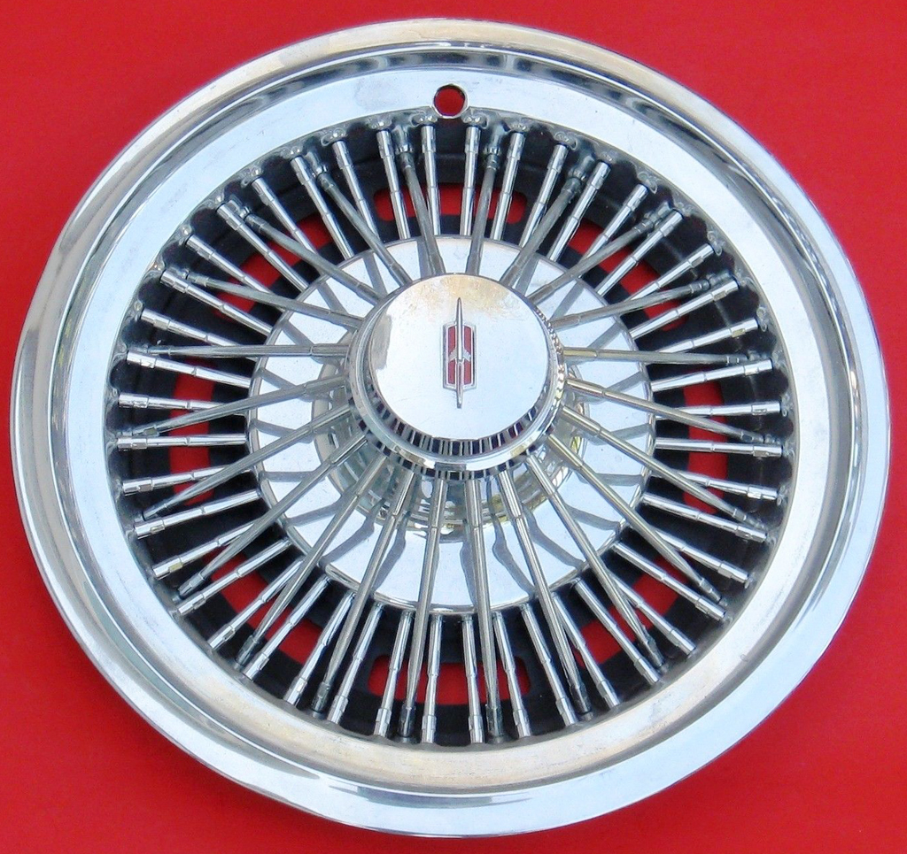 1973 Oldsmobile 14-inch wire wheel cover a | CLASSIC CARS TODAY ONLINE