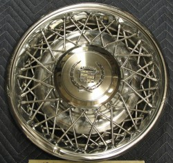 cadillac wire wheel cover