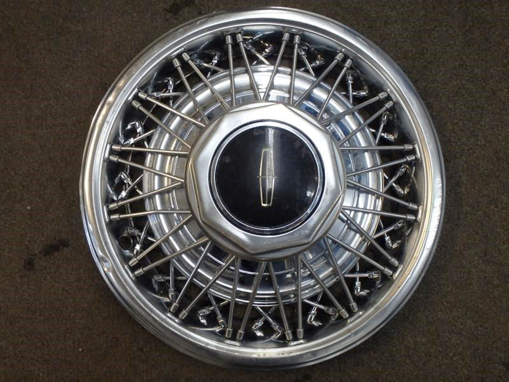 lincoln wire wheel cover