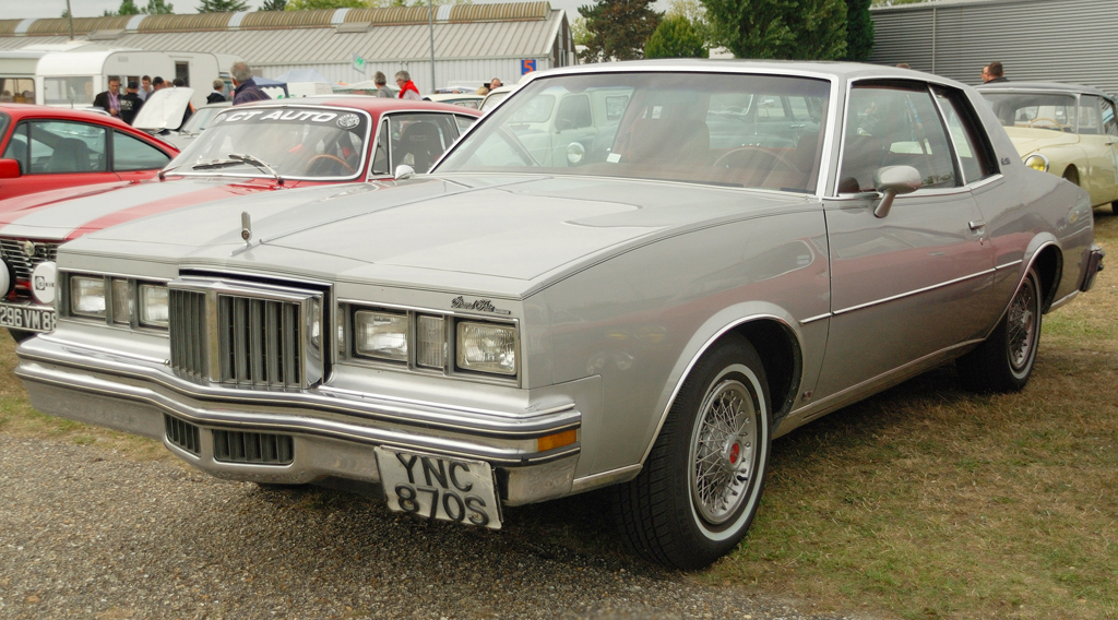 1978 Pontiac Grand Prix With Factory Wire Wheel Covers