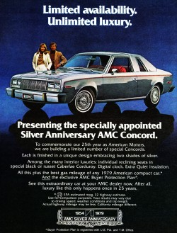 1979 AMC concord advertisement