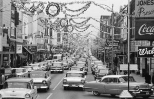 1950s street scene in Johnson City,TN – 1958 | CLASSIC ...