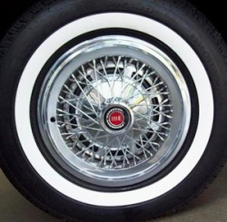 Ford Elite wire wheel cover