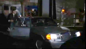 When Bonfire of the Vanities was made into a movie in 1991, Tom Hanks was cast as Sherman McCoy and Melanie Griffith was cast as Maria.  His car in the movie was not an SL two-seat roadster, but a new 1991 560SEL sedan – probably because it commanded a higher pricetag than any other Mercedes at that time.  We have to agree it was more fitting for a Wall Street master of the universe though.