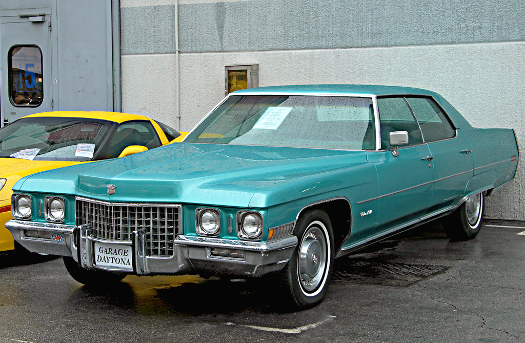 1971 cadillac finished roof