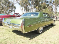 1971 cadillac painted roof