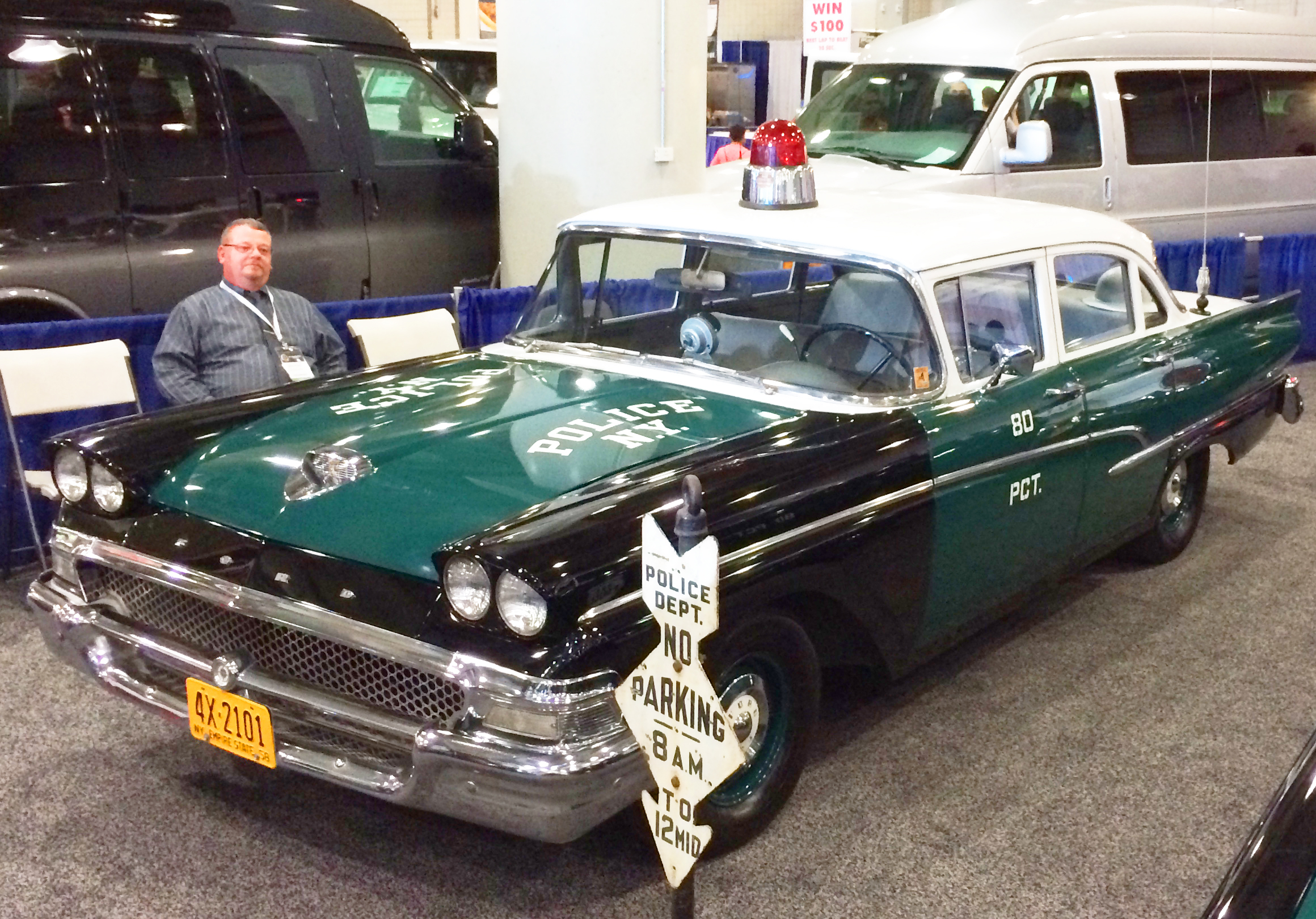 1958 Ford Custom 300 New York City Police Car A Classic