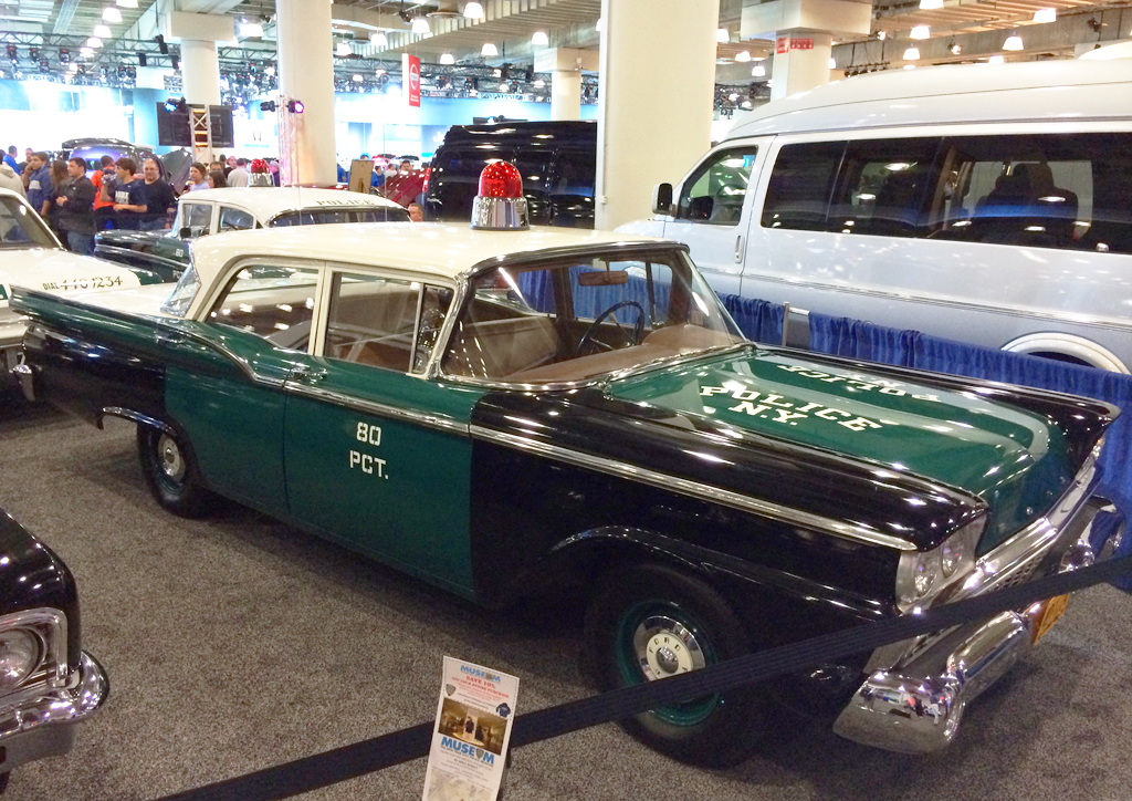 1959, ford, new york city, police car