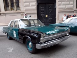 1965, plymouth, fury, new york city, police car
