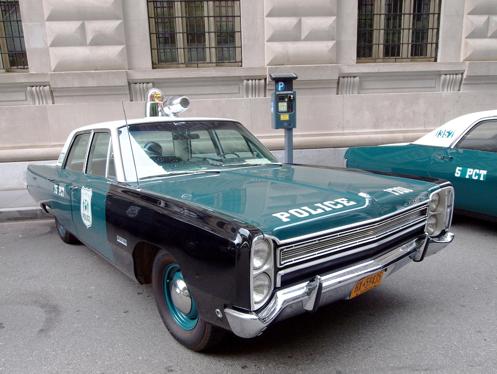 1968 Plymouth Fury New York City Police Car A Classic