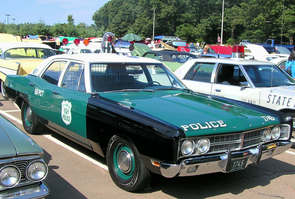 1969, ford, galaxie, new york city, police car
