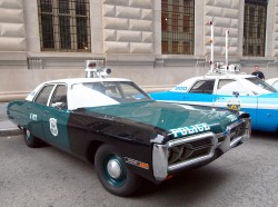 1972, plymouth, new york city, police car