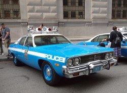 1974, plymouth, satellite, new york city, police car