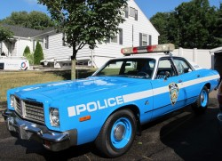 1976, plymouth, fury, new york city, police car