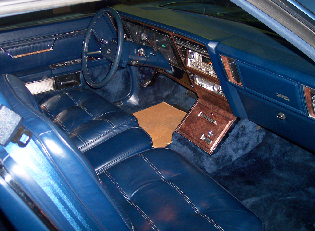 1981 chrysler imperial frank sinatra edition