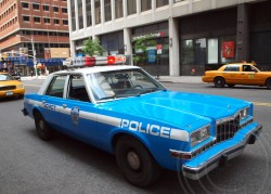 dodge, diplomat, new york city, police car