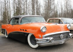 1956 buick special, 4 door coupe, 4-door coupe