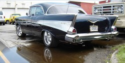 1957 chevrolet, 4 door coupe
