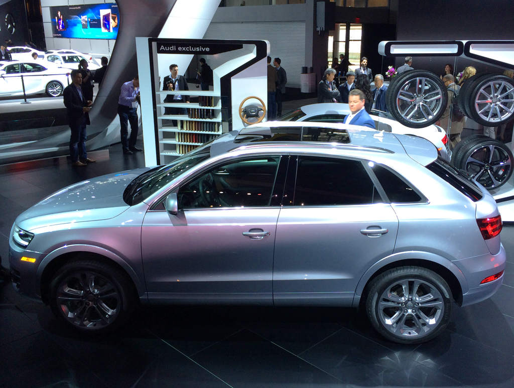 Audi Q At The New York Auto Show CLASSIC CARS TODAY - Audi 3 suv