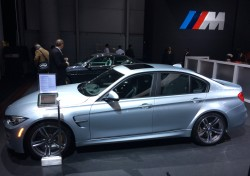 2014, bmw, m3, new york auto show