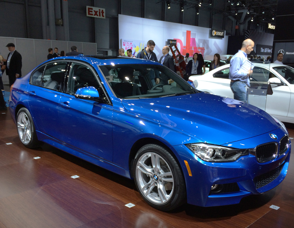 bmw, 3-series, diesel, new york auto show
