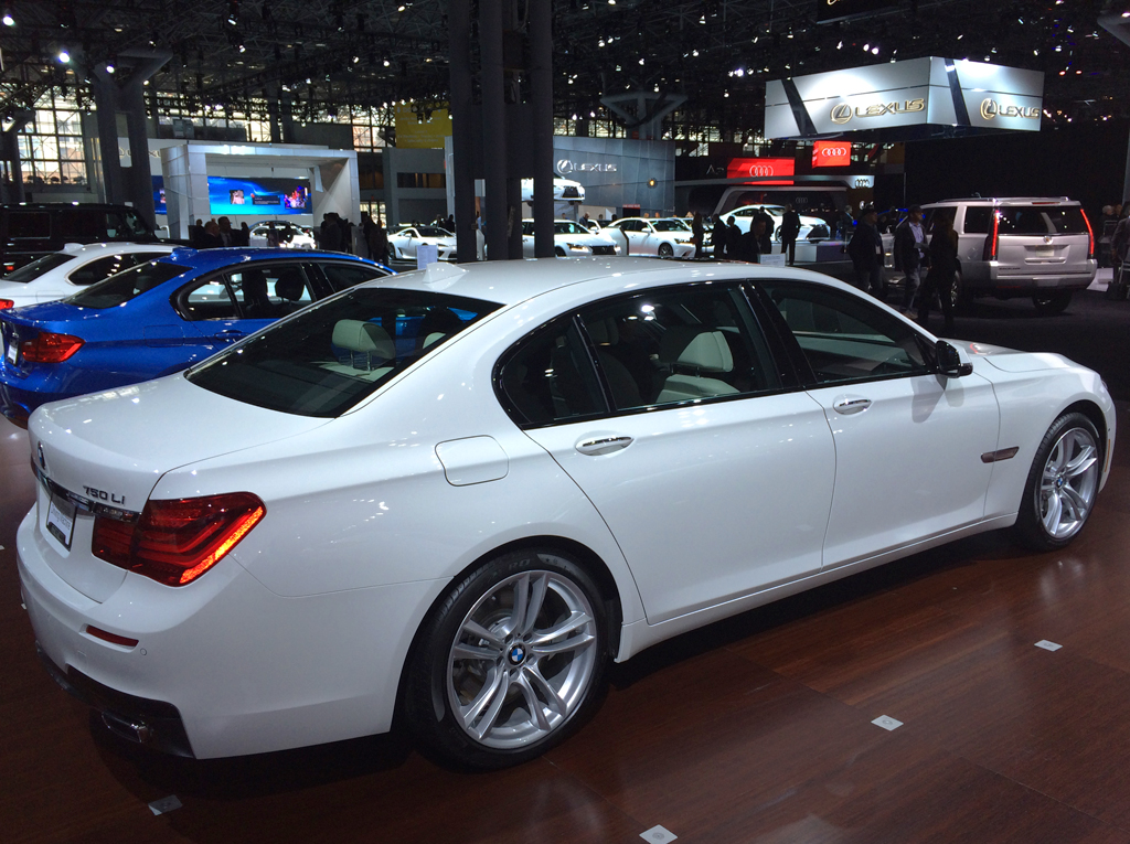 2014, bmw, 750Li, new York auto show