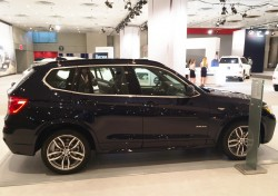 2014, bmw, x3, new york auto show