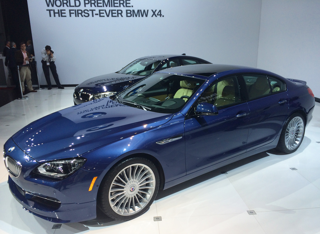 bmw, alpina, b6, new york auto show