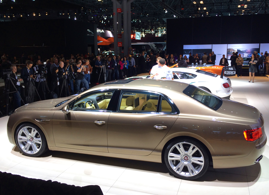 2014, bentley, flying spur, new york auto show