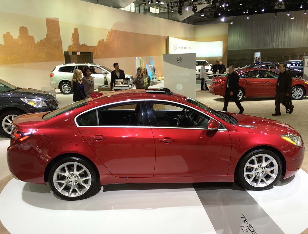 2014, buick, regal, new york auto show