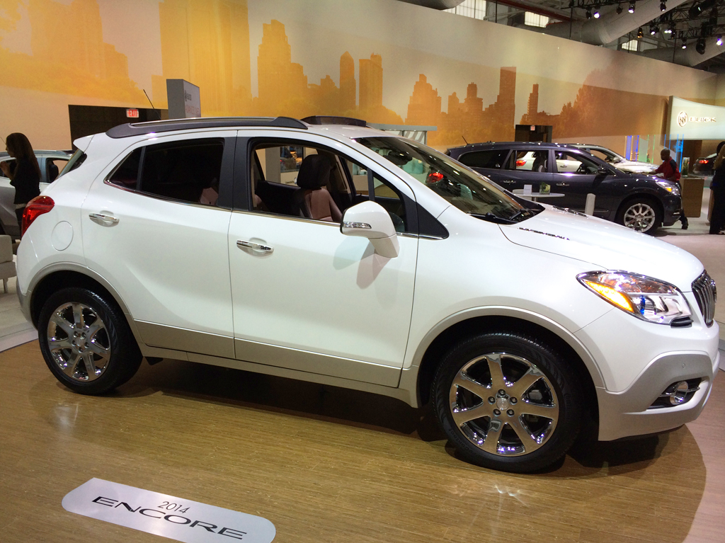 2014, buick, encore, new york auto show