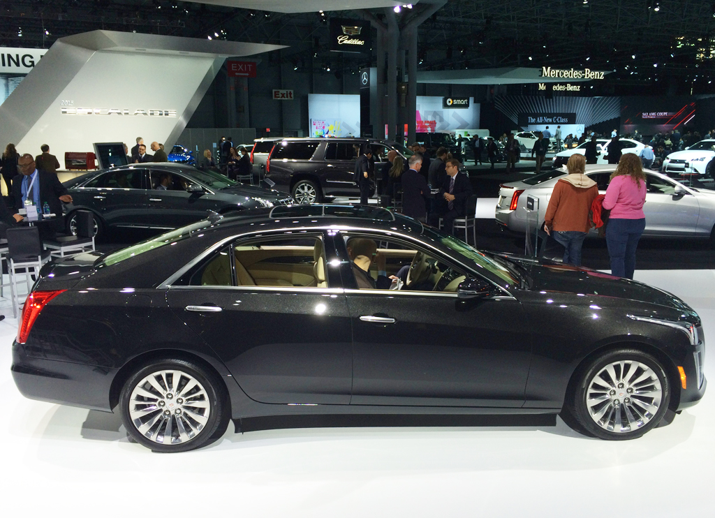 cadillac, cts, 2014, new york auto show