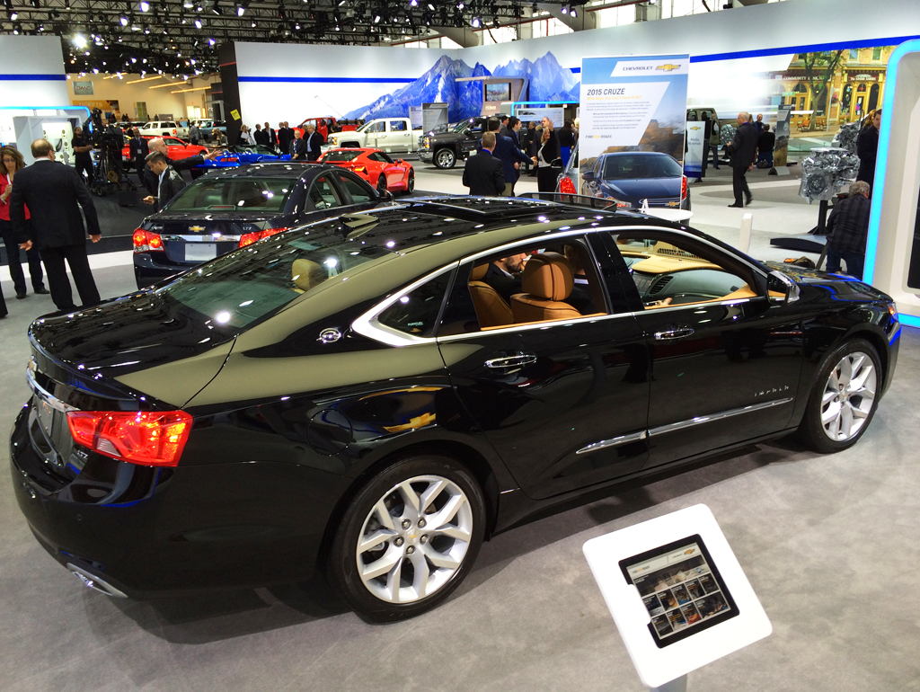 2014, chevrolet, impala, new york auto show
