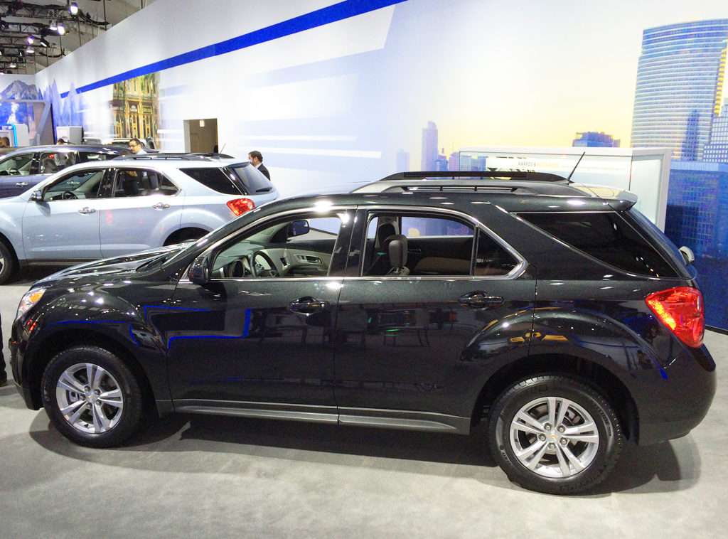 2014, chevrolet, equinox, new york auto show