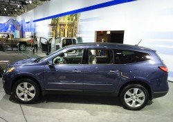 2014, chevrolet, traverse, new york auto show