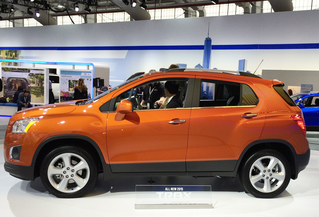 2015, chevrolet, trax, new york auto show