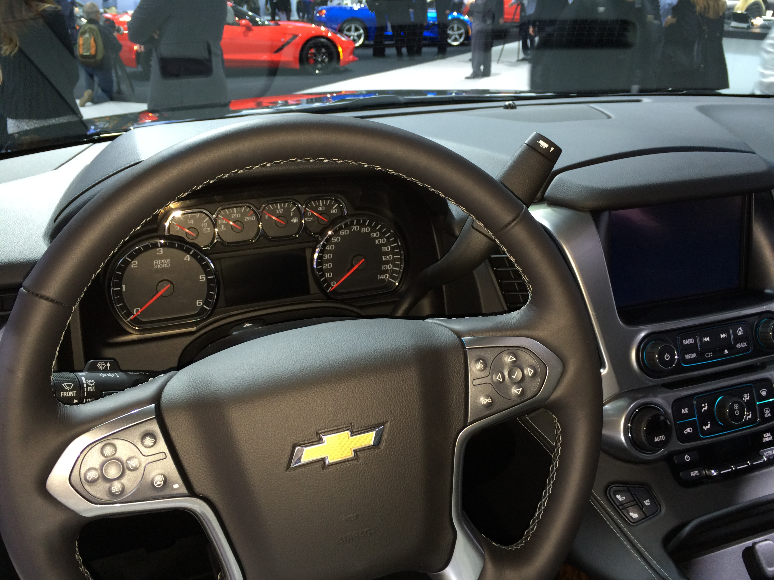 2015, chevrolet, suburban, new york auto show