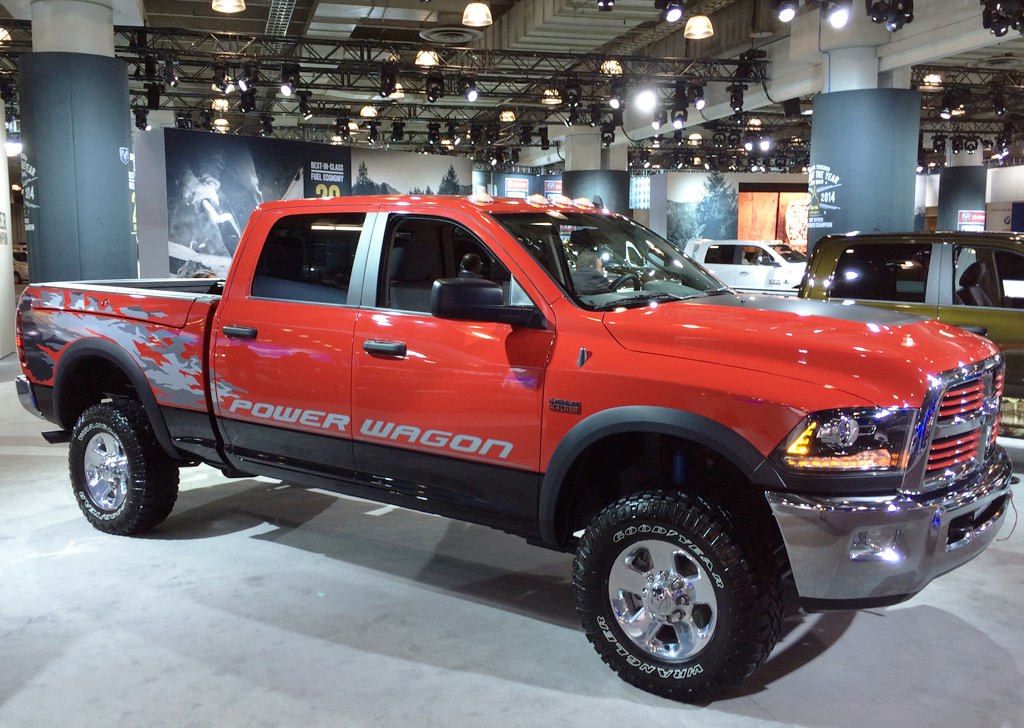 2014 dodge power wagon at the 2014 new york auto show. Cars Review. Best American Auto & Cars Review