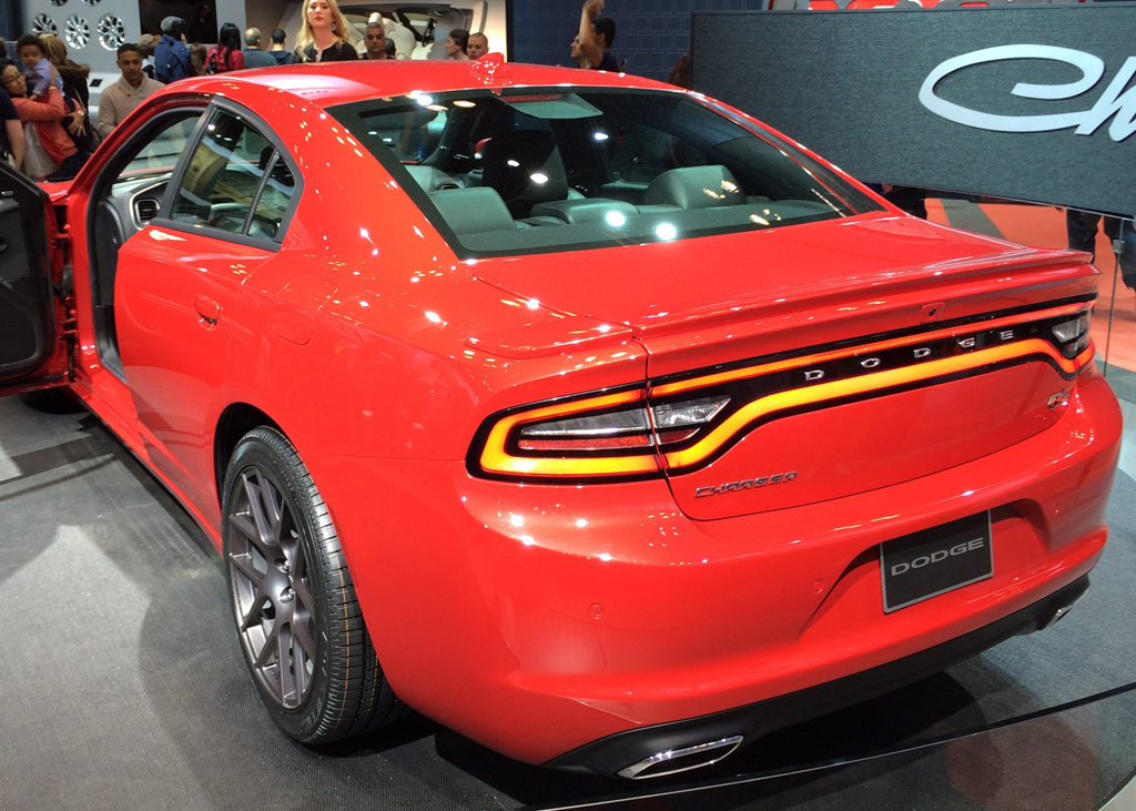 2015, dodge, charger, new york auto show