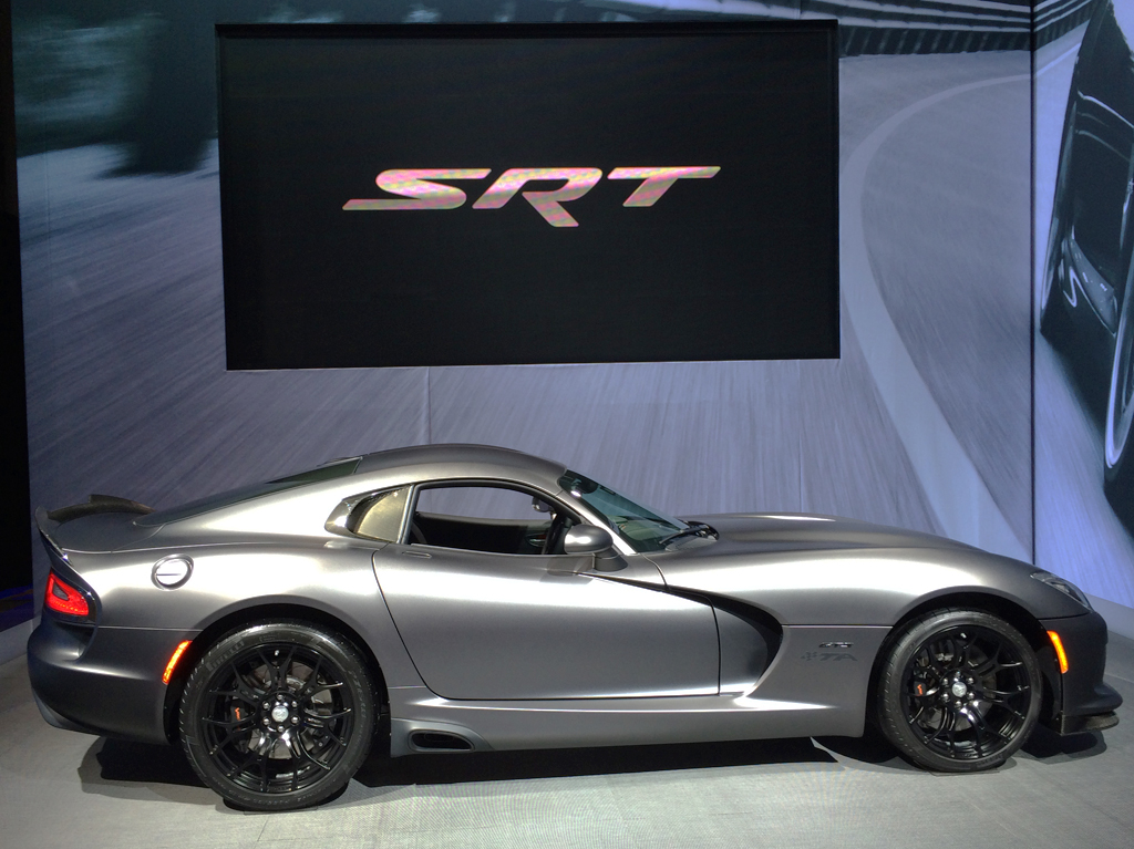 2014, dodge, viper, new york auto show