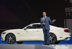 bill ford, 2015, mustang, introduction