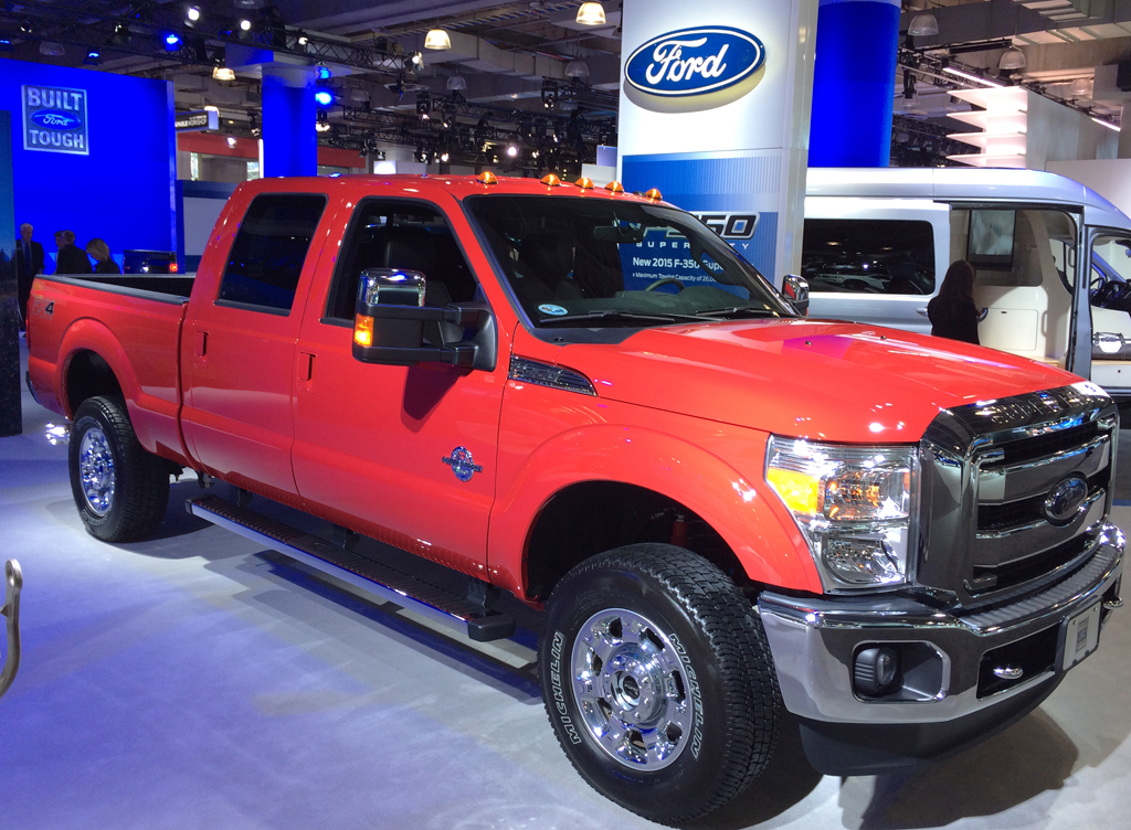 2014, ford, f-350, new york auto show