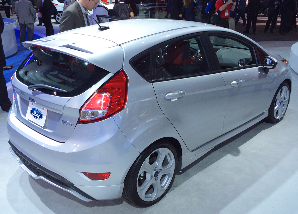 2014, ford, fiesta, new york auto show